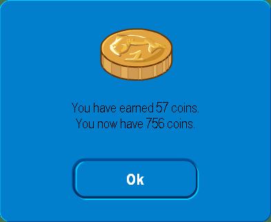 The Treasure Hunt Game's win screen